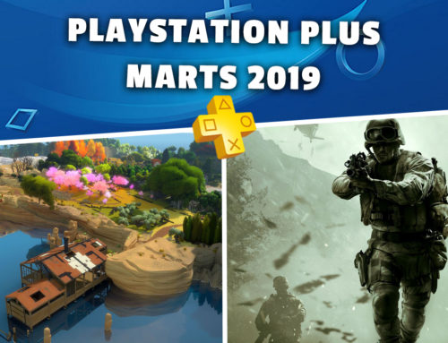 PlayStation Plus bezmaksas spēles – Marts 2019