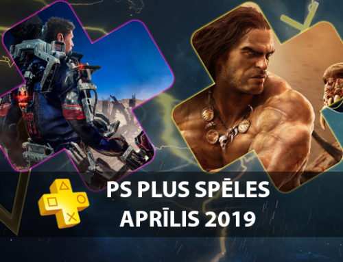 PlayStation Plus bezmaksas spēles – Aprīlis 2019