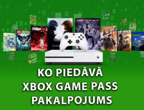 """Ko piedāvā """"Xbox Game Pass"""" pakalpojums?"""