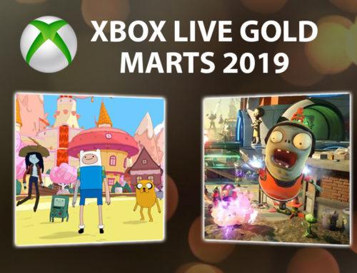 Xbox Live Gold bezmaksas spēles – Marts 2019