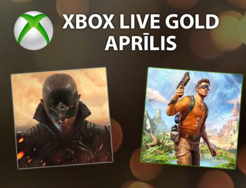 Xbox Live Gold – Aprīlis 2019