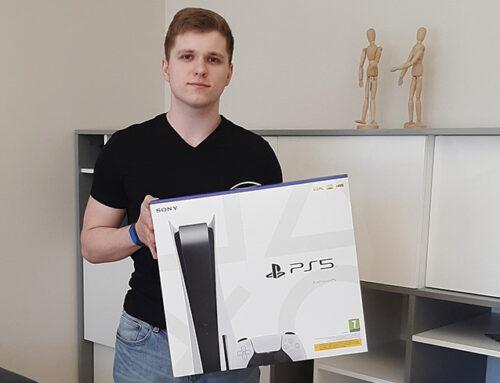Lielā Playstation 5 spēļu konsoles izloze ir beigusies! 🏆