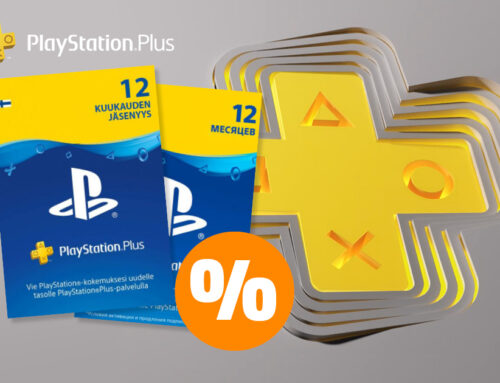 Tieši tagad PlayStation Plus konta karte 12 mēnešiem ir pieejama par īpaši labu cenu!   🎮