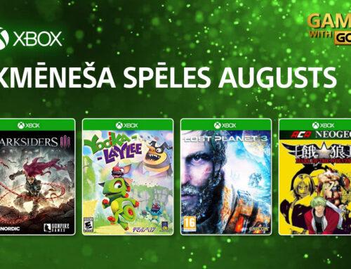Xbox Live Gold bezmaksas spēles – Augusts 2021