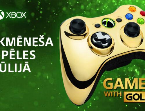 Xbox Live Gold bezmaksas spēles – jūlijs 2021