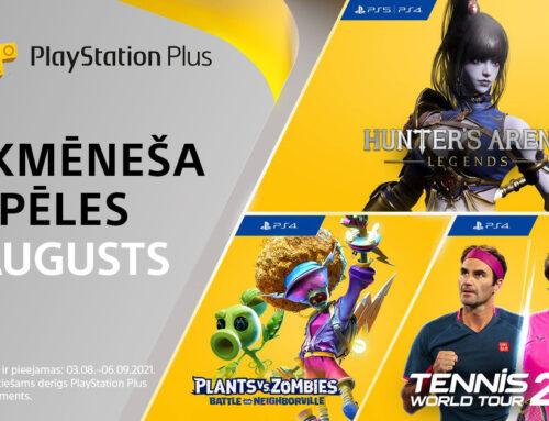 PlayStation Plus bezmaksas spēles – Augusts 2021