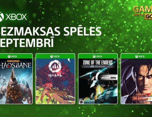 Xbox Live Gold bezmaksas spēles – Septembrī 2021