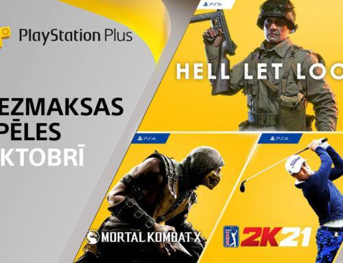PlayStation Plus bezmaksas spēles – oktobrī 2021