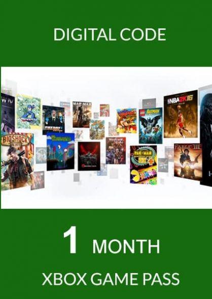 Xbox Game Pass 1 Mēneša Abonements (Xbox One)