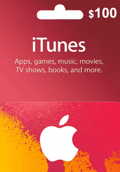 iTunes USA $100 Dāvanu Karte