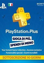 Itālijas PSN Plus 3 Mēnešu Abonements