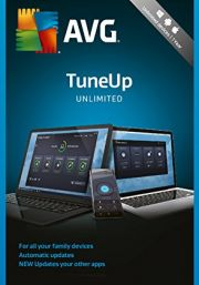 AVG PC TuneUp Unlimited 2018 (1 User- 2 Years)