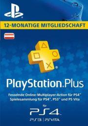 Austrijas PSN Plus 12 Mēnešu Abonements