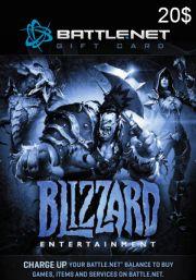 BattleNet 20 Dolāru Dāvanu Karte