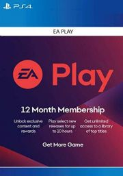 EA Play 12 Mēneša Abonements [PS4 USA]
