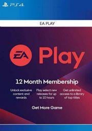 EA Play 12 Mēneša Abonements [PS4/PS5 USA]