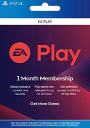 EA Play 1 Mēneša Abonements [PS4 USA]