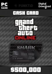 GTA V Online Cash Card: Bull Shark 500,000$ [PC]