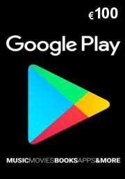 Google Play 100 Euro Dāvanu Karte