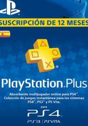 Spānijas PSN Plus 12 Mēnešu Abonements