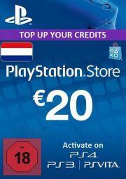 Holandes PSN 20 EUR Dāvanu Karte