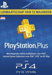 Holandes PSN Plus 12 Mēnešu Abonements