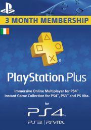 Īrijas PSN Plus 3 Mēnešu Abonements