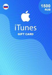 iTunes Krievijas 1500 RUB Dāvanu Karte