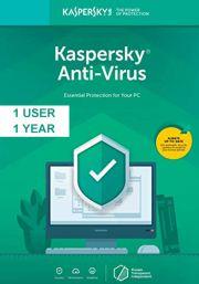 Kaspersky Anti-Virus 2019 (1 lietotājs / 1 gads)