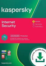Kaspersky Internet Security Multi-Device 2021 (3  lietotāji , 1 gads)