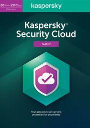 Kaspersky Security Cloud (20  lietotāji , 1 gads)