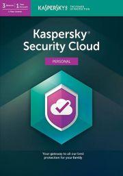 Kaspersky Security Cloud (3 lietotāji , 1 gads)