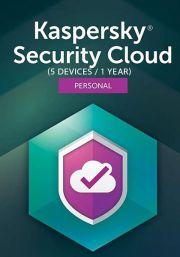 Kaspersky Security Cloud (5 lietotāji , 1 gads)