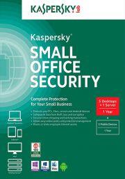 Kaspersky Small Office Security 4 (5 lietotāji , 1 gads)