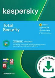 Kaspersky Total Security 2021 (3 lietotāji , 1 gads)