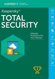 Kaspersky Total Security 2021 (1 lietotāji , 1 gads)