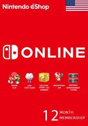 USA Nintendo 12 Mēnešu Abonements