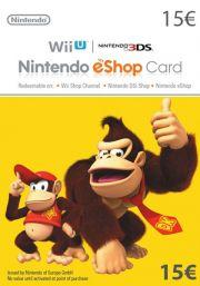 EU Nintendo 15 Euro eShop Dāvanu Karte