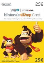 EU Nintendo 25 Euro eShop Dāvanu Karte