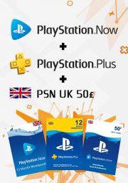 UK PSN 12 -  mēneša kombo