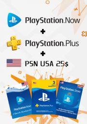 USA PSN 3 - mēneša kombo