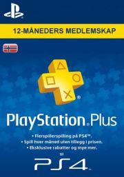 Norvēģijas PSN Plus 12 Mēnešu Abonements