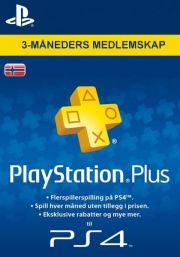 Norvēģijas PSN Plus 3 Mēnešu Abonements