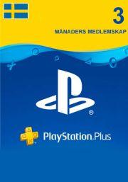Zviedrijas PSN Plus 3 Mēnešu Abonements