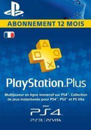 Francijas PSN Plus 12 Mēnešu Abonements