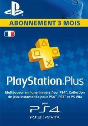 Francijas PSN Plus 3 Mēnešu Abonements