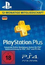 Vācijas PSN Plus 12 Mēnešu Abonements