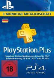 Vācijas PSN Plus 3 Mēnešu Abonements