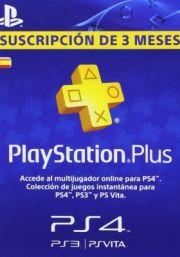 Spānijas PSN Plus 3 Mēnešu Abonements