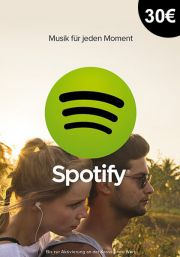Germany Spotify 30€ Dāvanu Karte